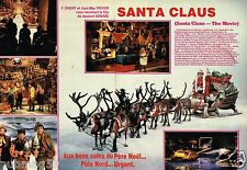 Coupure de Presse Clipping 1985 (4 pages) Film Santa Claus Noel