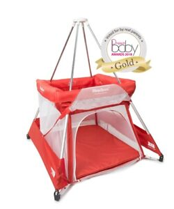 BabyHub Travel Cot - The 2018 Sleepspace in ruby (red)