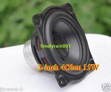 """2pcs For AURA 3"""" inch 4Ohm 4Ω 15W Mid bass Speaker Aluminum cone Loudspeaker"""