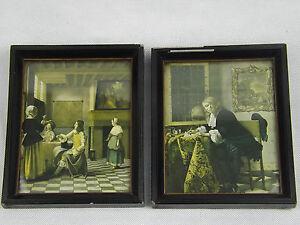 Dutch Old Masters Framed LTD ED Prints Peter de Hooch 235/4 Gabriel Metsu 235/2