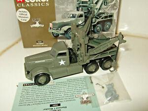 New Corgi 55601 US Army Diamond T Wrecker Diecast Model in 1:50 Scale.