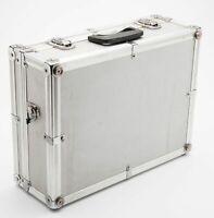 Kamerakoffer Aluminiumkoffer Fotokoffer camera suitcase in Silber universal