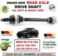 FOR BMW X6 F16 F86 xDrive 30d 40d 35 50 2014->on BRAND NEW REAR AXLE DRIVESHAFT