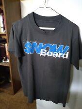 New listing Vintage Snowboard - International Snowboard Magazine t-shirt