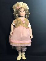 """Beautiful Paradise Galleries Porcelain 28"""" Doll By Linda Murray"""