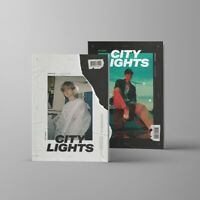 BAEKHYUN EXO 1st Mini Album [City Lights] Random CD+P.Book+P.Card+Lyrics Booklet