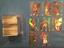 1998-99 E-X Century Complete set of 90 NM/MT Basketball Cards Checklist