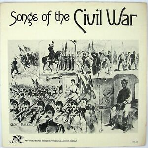 TONY RANDALL, JOHN ALER Songs Of The Civil War LP 1976 CIVIL WAR NM- NM-
