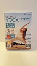Gaiam Ultimate Yoga for Beginners Collection I & II Patricia Walden (DVD, 2014)