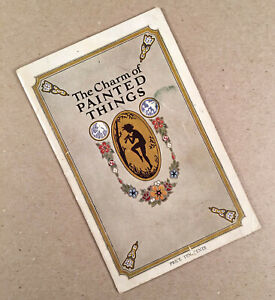 1926 BOSTON VARNISH CO. KYANIZE 24-Page Booklet Brochure CHARM OF PAINTED THINGS