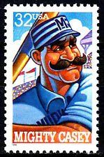 USA postfrisch MNH Michty Casey Baseball Zeichentrick Animation Comic / 338