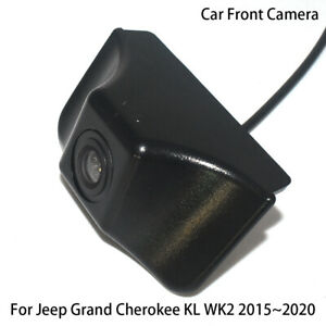 Car Front View Parking LOGO Camera for Jeep Grand Cherokee KL WK2 2015~2020