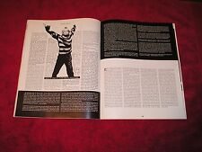 Nirvanna Kurt Cobain - 1994 Us Album Network Magazine 2-Page Article W/Extras!