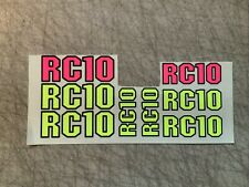 LOSI RACING RC10 B6 B6D /'HELL RIDE/' CHASSIS WRAP HOP UP DECALS FITS OEM SKID