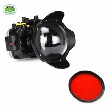 Seafrogs 40m/130ft Underwater Camera Housing Case for Panasonic GH5 w/ Dome Port
