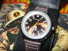 Sekonda Mens Brown Leather Upper Strap 50m WR Watch Model 3882