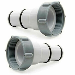 Intex 25077RP Hose Adapter A with Collar for Threaded Connection Pumps - 2 Count