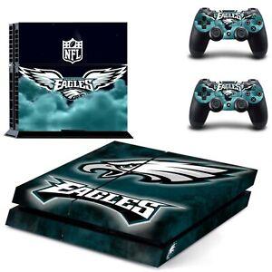 Regular PS4 Console Controllers Vinyl Philadelphia Eagles Skin Decal Sticker NFL