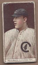 1912 T207 baseball card Ed Reulbach, Chicago Cubs Recruit  G-VG