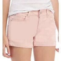 NWT CELEBRITY PINK ~ JUNIORS OR WOMENS SIZE 0 / 24 ~ ROLLED CUFF MIDRISE SHORTS