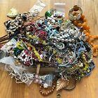 8.8 Lbs of Costume Jewelry Bulk Lot - Vintage Necklaces Earrings Bracelets More