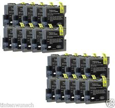 20 compatible con Brother dcp-135c dcp330c mfc-235c dcp-150c mfc5460cn negro