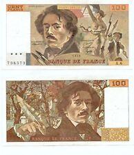 100 FRANCS DELACROIX de 1978  A. 6