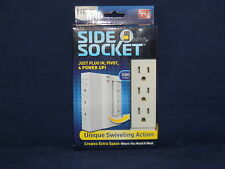 NEW Side Socket Surge Protector - AS SEEN ON TV - Creates Extra Space!