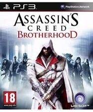 ASSASSIN'S CREED Brotherhood  (18) Ubisoft 2010 Sony Playstation 3 Game