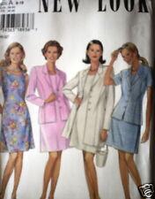Vintage NEW LOOK SEWING Pattern 6461 Misses Dress Jacket 8-18 UNCUT OOP SEW FF