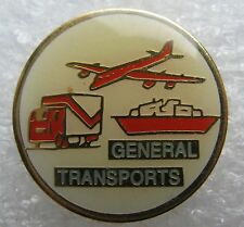 Pin's General Transport Avion Bateau Camion #1115