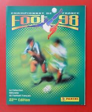 ALBUM PANINI VIDE EMPTY FOOTBALL FOOT 98 1998 FRENCH LIGUE 1