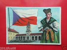 figurines cromos cards figurine sidam gli stati del mondo 82 cecoslovacchia flag