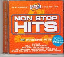 (EU765) Non Stop Hits, 40 tracks various artists - 2CDS - 1998 CD