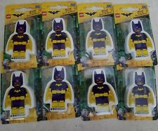 LEGO Batman Movie Batgirl Eraser- NIP- Bat Girl- Lot of 8