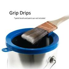 Grip Drips Paint Can Rim Cover with Magnetic Brush Holder