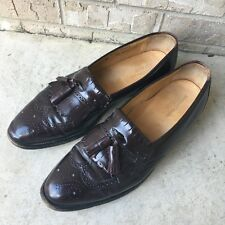 Johnston and Murphy Optima Mens Oxford Shoes Burgundy Shoes Size 13 B M