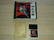 NEC PC ENGINE HU CARD HUCARD TURBOGRAFX JINMU DENSHO 11