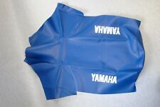 Motorcycle seat cover - Yamaha XT600E 3TB in blue 1990-94