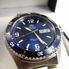 BEST PRICE!!! Orient Mako 2 II blue Automatic Watch Automatik Herren Taucher Uhr