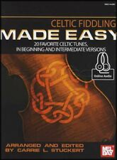 Celtic Fiddling Made Easy Sheet Music Book/Audio Fiddle Violin SAME DAY DISPATCH