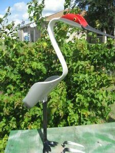NEW Sandhill Crane Bird PVC pipe bird Lawn Ornament Garden Decor