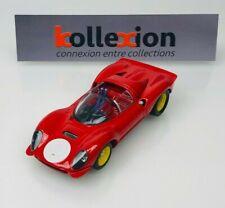 ART MODELS ART029 FERRARI Dino 206 S Prova Rosso 1.43