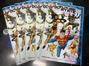 5 COPY DC Future State #0 FREE LCSD PROMO 1st APP YARA FLOR  Wonder Woman RED X