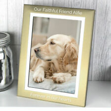 Rectangle Silver Personalised Photo & Picture Frames