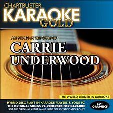 Karaoke Gold: Songs in the Style of Carrie Underwood [CD]