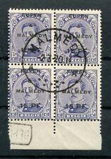 Eupen & Malmedy 3 Belle unità con TIMBRO DI REGISTRAZIONE timbrato (Z9362