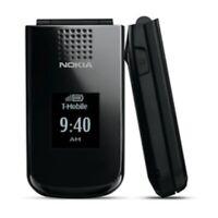NEW CONDITION NOKIA 2720 BLACK BIG BUTTON FLIP PHONE SIM FREE - UNLOCKED