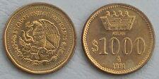Mexique/Mexico 1000 pesos 1991 ppn249 unz.