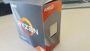AMD Ryzen 3 3100 3.6GHz Socket AM4 Quad-Core Processor with Wraith Cooler